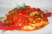 Mâncare de ardei copţi