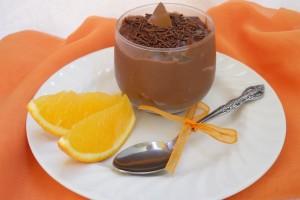 Budincă de ciocolată cu portocale