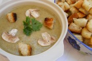 Supă-cremă de ciuperci