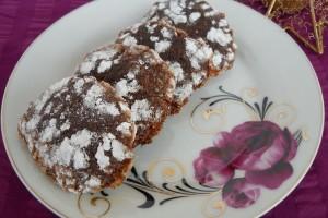 Coffe-Chocolate Crinkles