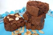 Brownies cu migdale