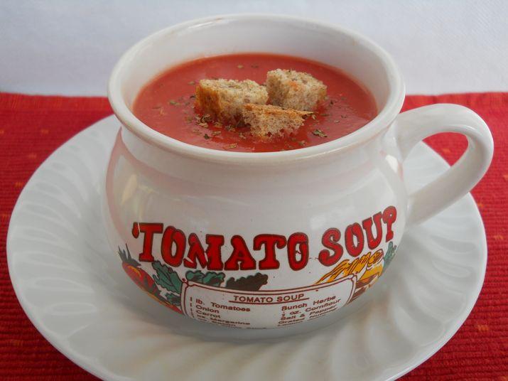 supa crema de rosii proaspete