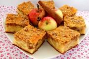 prajitura cu mere si crusta de nuci 1