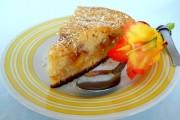prajitura cu nectarine si cocos 1