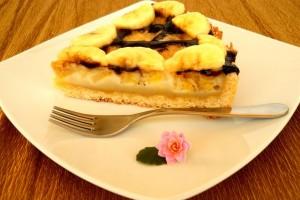 tarta cu banane 2