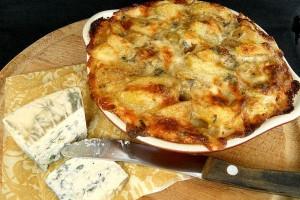 cartofi gratinati cu sos blue cheese 22