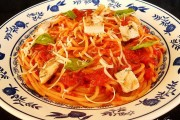 spaghete cu sos si pui 2