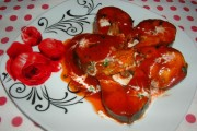 Macrou în sos tomat