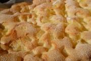Pufoasă cu ananas