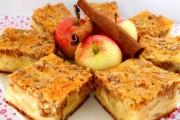 prajitura cu mere si crusta de nuci 4