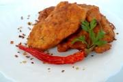 snitele in crusta de cartofi 1